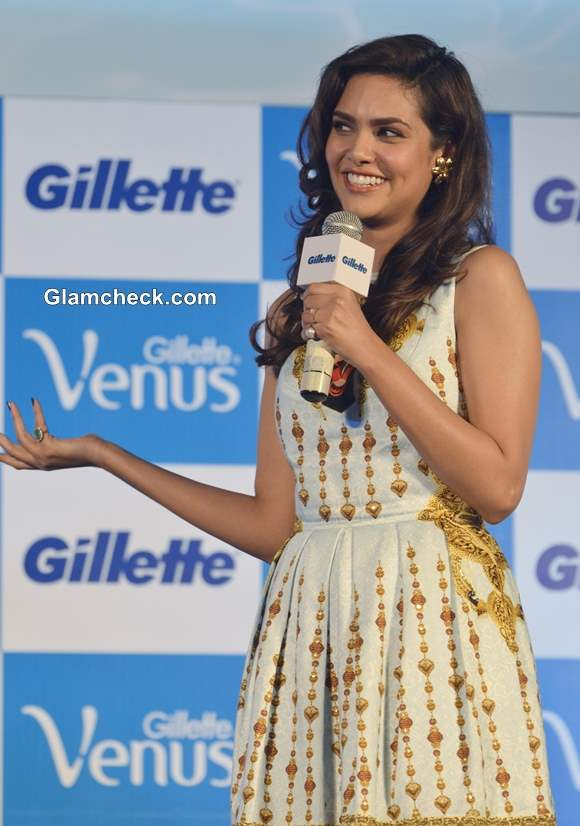 Esha Gupta at Gillette Venus Razor Launch