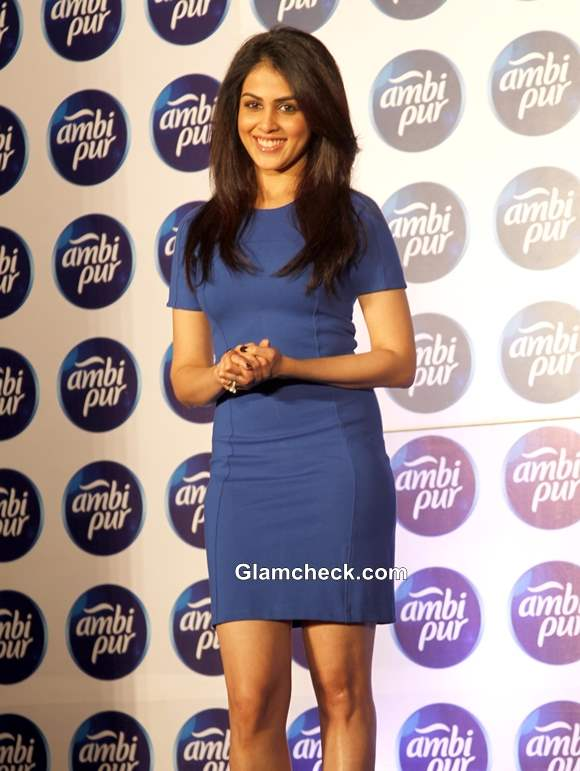 Genelia Deshmukh Campaigns for Freshening Up Your Relationship