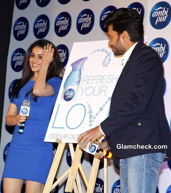 Genelia and Riteish Deshmukh Campaign for Freshening Up Your Relationship