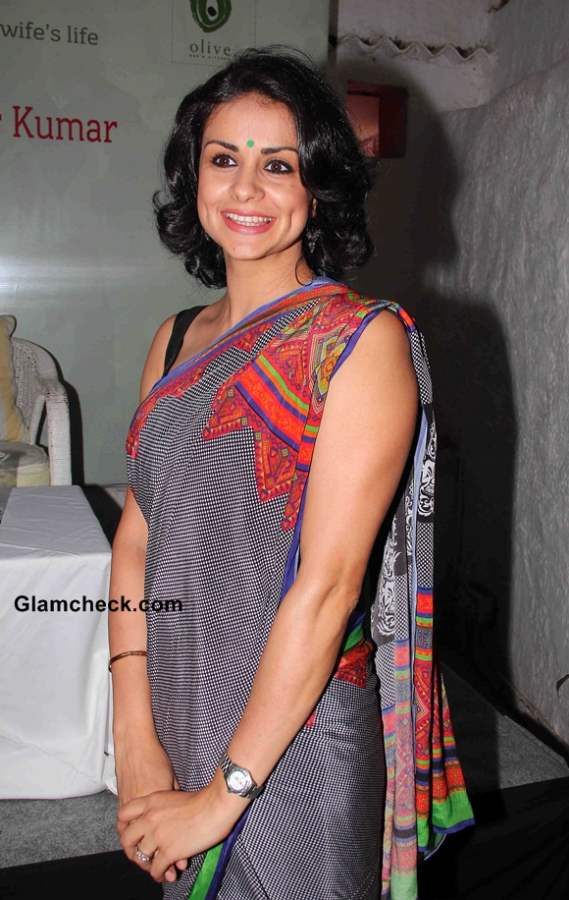 Gul Panag at the Launch Soldier and Spice