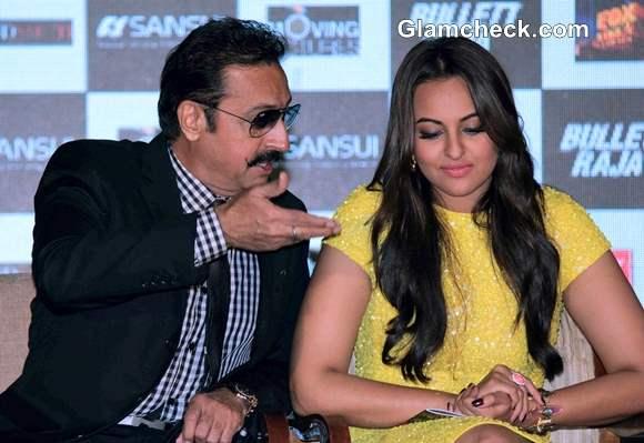 Gulshan Grover and Sonakshi Sinha