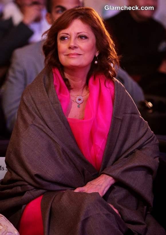 Hollywood actor Susan Sarandon at 44th International Film Festival in Goa