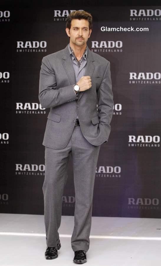 Hrithik Roshan Launches New Rado HyperChrome Watch 2013