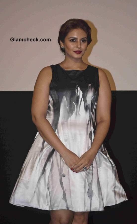 Huma Qureshi in Dress 2014 Dedh Ishqiya Movie