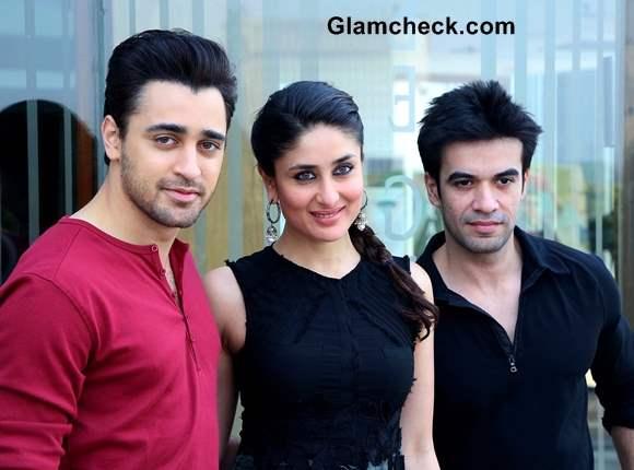 Imran Khan Kareena Kapoor and film maker Punit Malhotra promoted their film Gori Tere Pyaar Mein