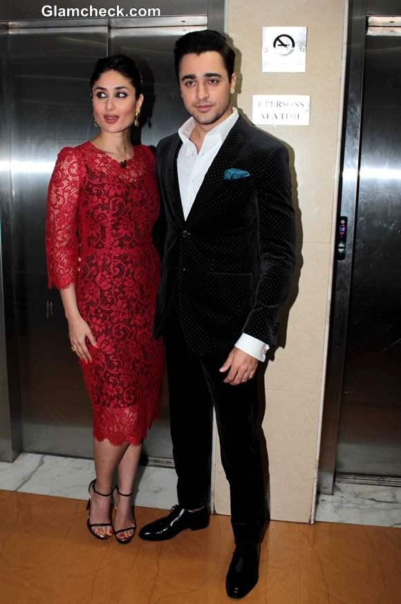 Imran Khan and Kareena Kapoor Promote Gori Tere Pyaar me at Kaun Banega Crorepati