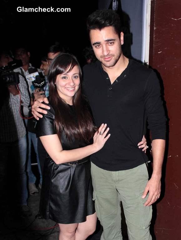 Imran Khan with his wife Avantika Malik at Special Screening of Gori Tere Pyaar Mein