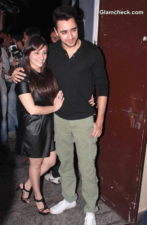Imran Khan with wife Avantika Malik at Special Screening of Gori Tere Pyaar Mein