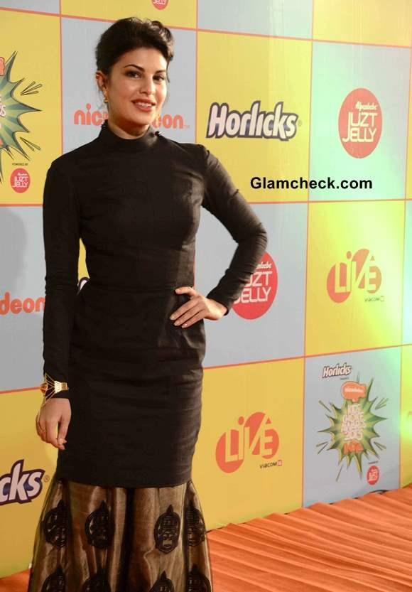 Jacqueline Fernandez at Nickelodeon Kids Choice Awards 2013