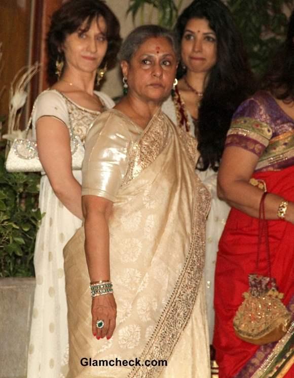 Jaya Bachchan Diwali Party 2013