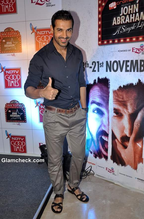 John Abraham TV Debut with A Simple Life