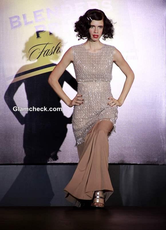 Kalki Koechlin at Blenders Pride Fashion Tour 2013 Mumbai