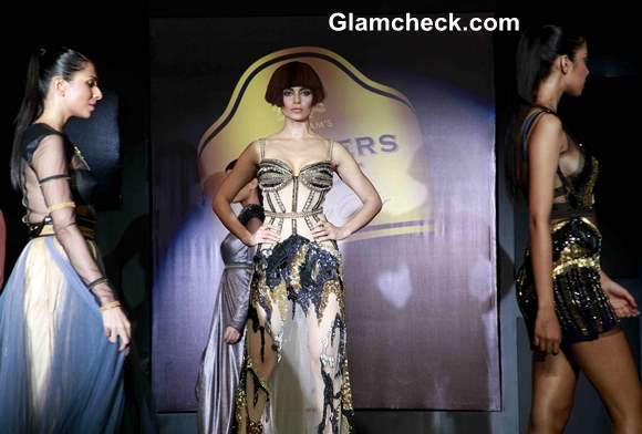 Kangana Ranaut Show-stopper for Gavin Miguel at Blenders Pride Fashion Tour 2013