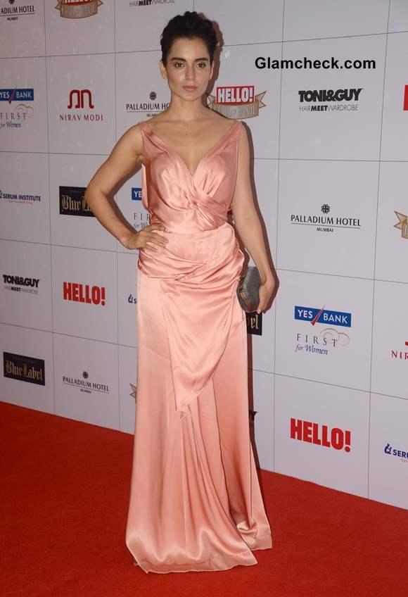 Kangana Ranaut at Hello Magazine Awards 2013