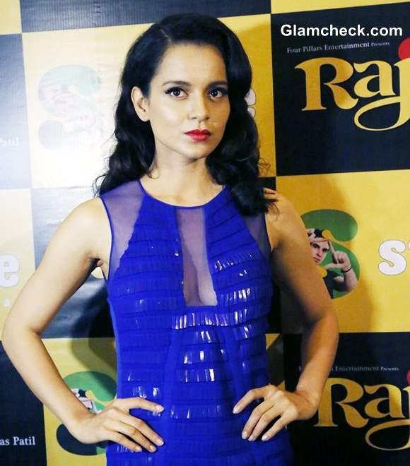 Kangana Ranaut at Rajjo Promo
