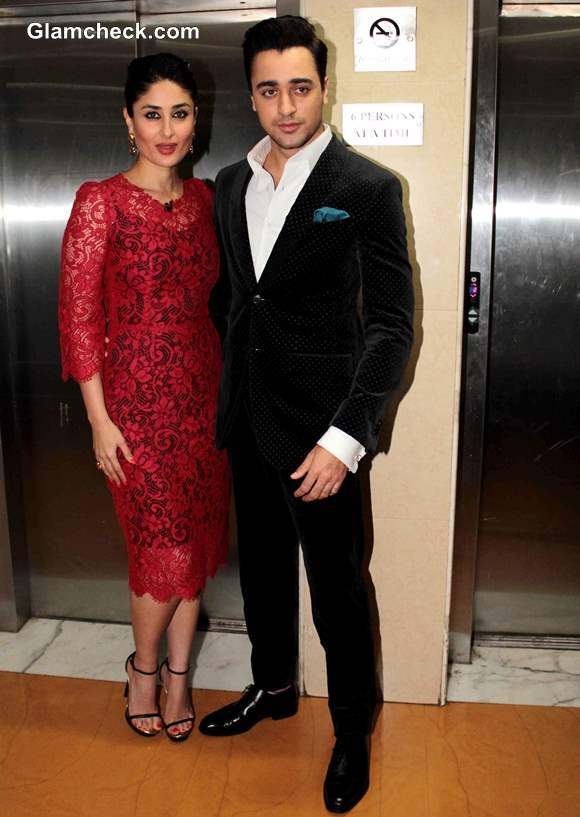 Kareena Kapoor and Imran Khan 2013 at Kaun Banega Crorepati