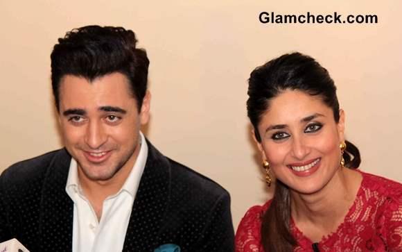 Kareena Kapoor and Imran Khan at Kaun Banega Crorepati