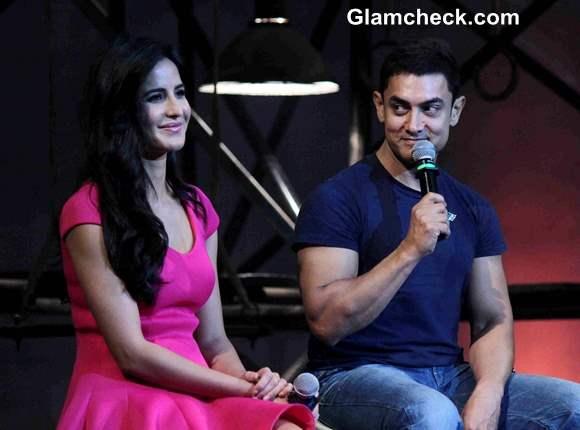 Katrina Kaif Aamir Khan Launch Dhoom 3 Title Song
