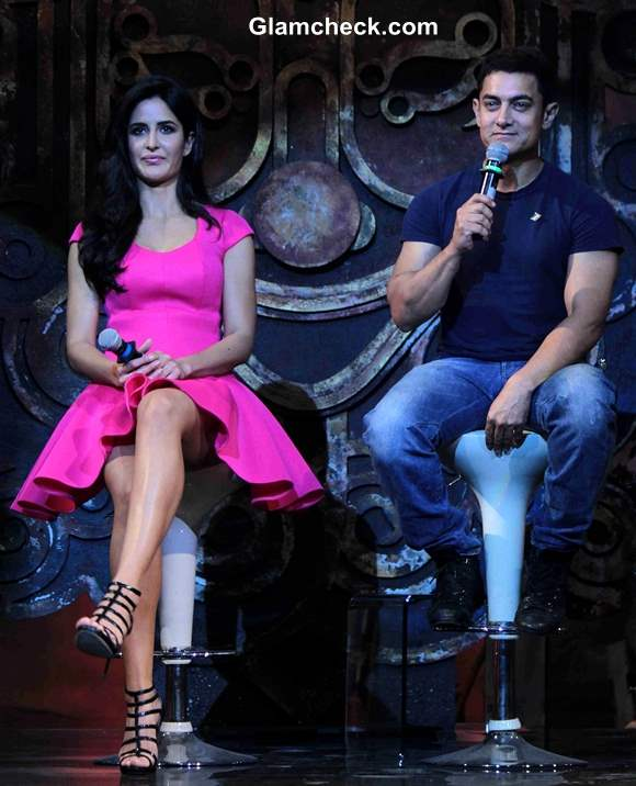 Katrina Kaif and Aamir Khan Launch Dhoom 3 Title Song in Mumbai
