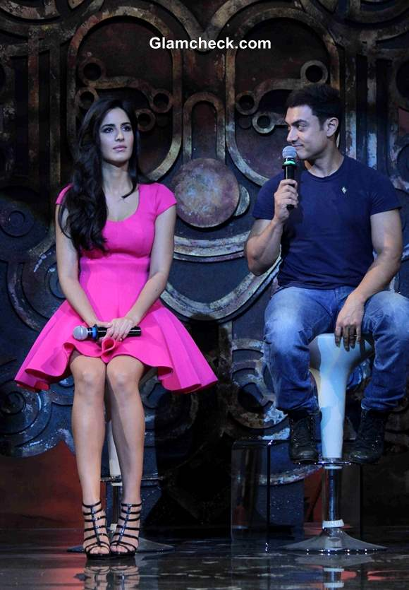 Katrina Kaif and Aamir Khan Launch Dhoom 3 Title Song