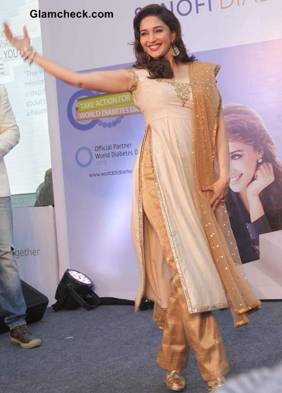 Madhuri Dixit in Salwaar Kameez 2013