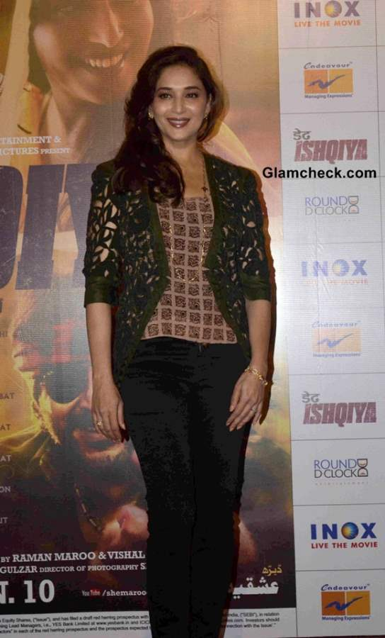 Madhuri Dixit in movie Dedh Ishqiya 2014