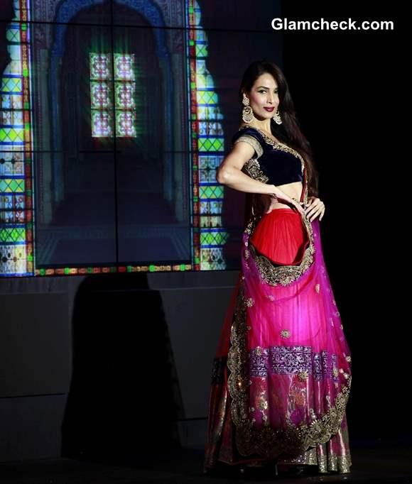 Malaika Arora Khan in Vikram Phadnis Pink Lehenga