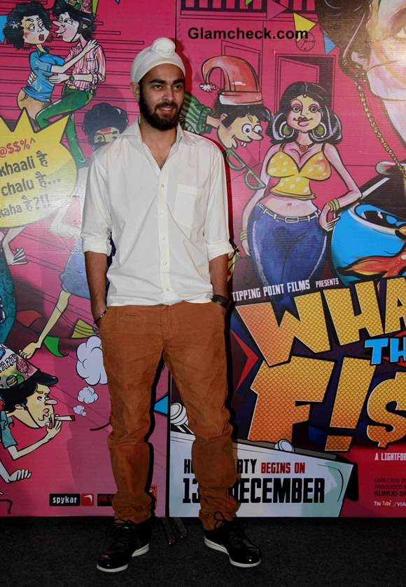 Manjot Singh in What the Fish
