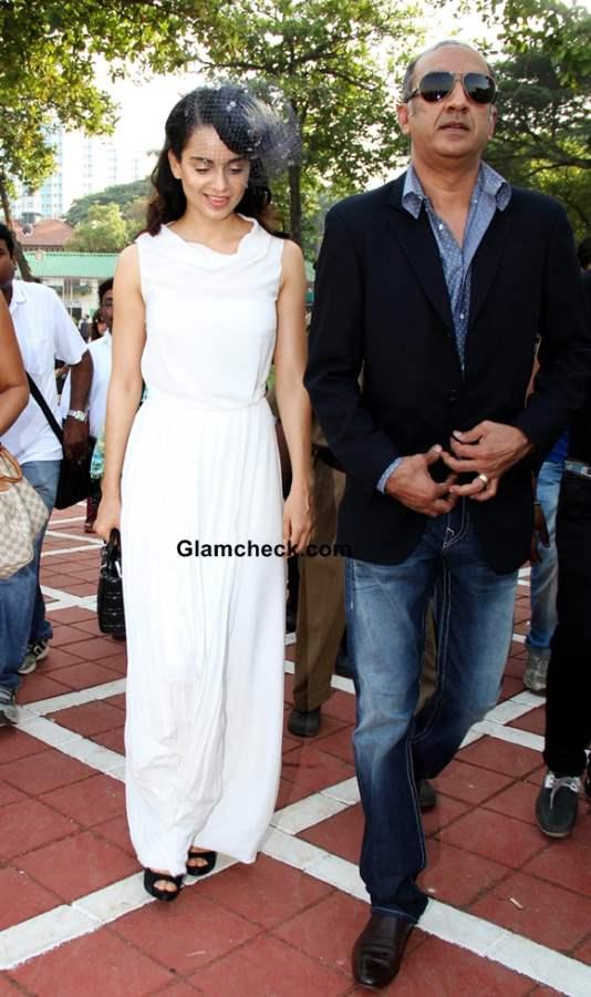 Milan Luthria and actor Kangana Ranaut