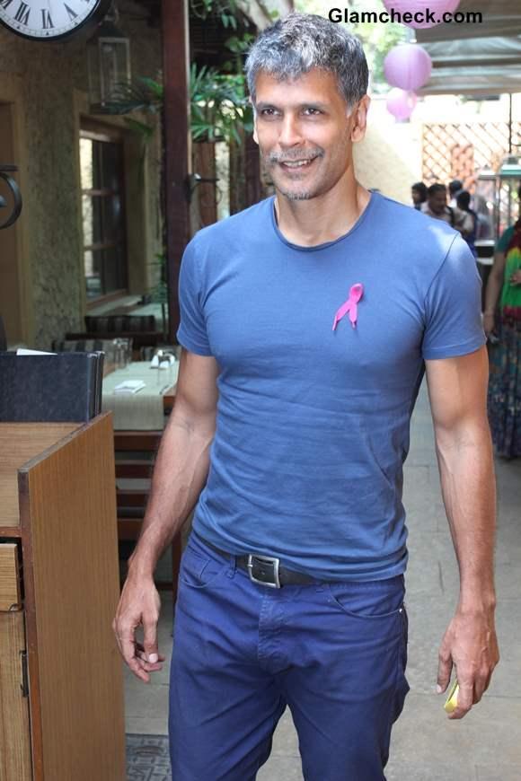 Milind Soman for Breast Cancer Awareness