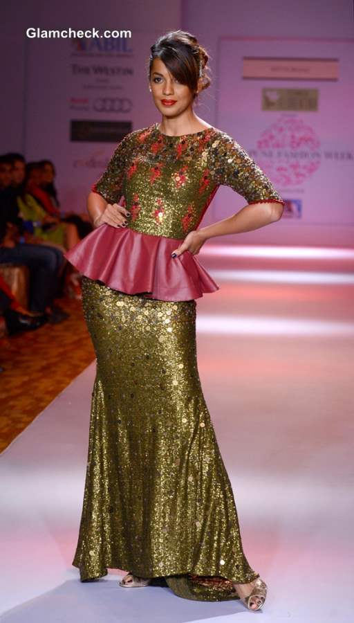 Mugdha Godse at 2013 Pune Fashion Week