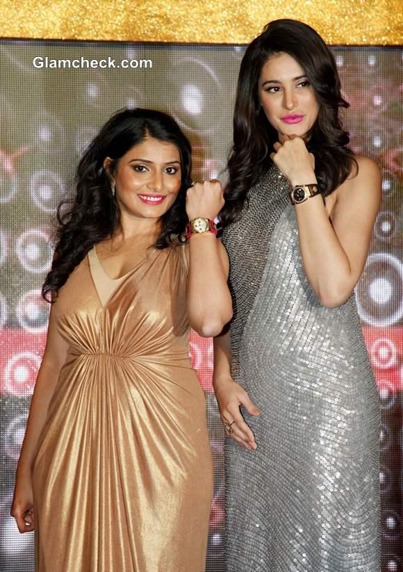 Nagris Fakhri with Silky Kothari Mehta