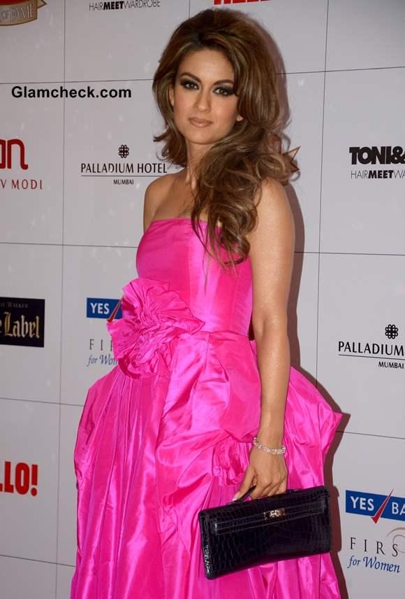 Natasha Poonawala at Hello Magazine Awards 2013