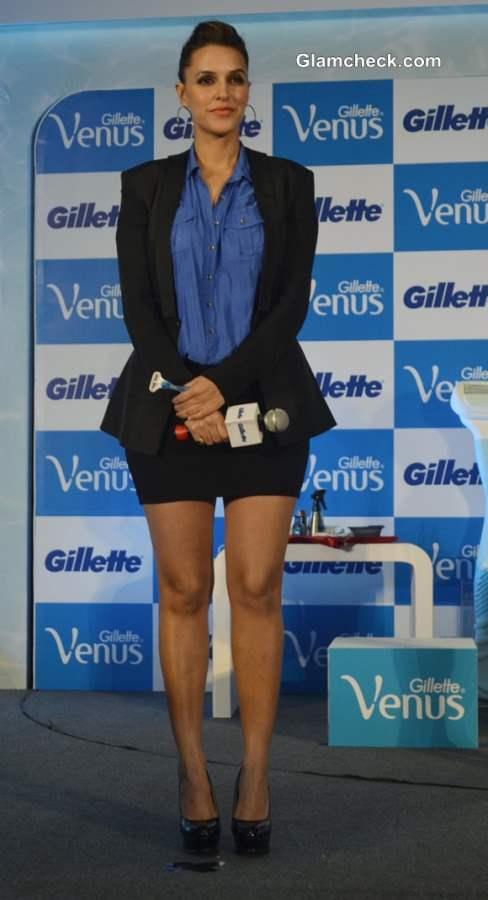 Neha Dhupia at Gillette Venus Razor Launch
