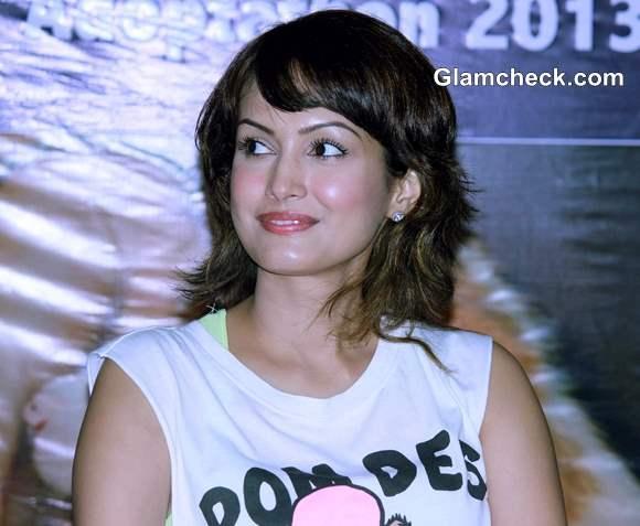 Nisha Rawal wife of television actor Karan Mehra