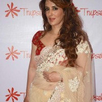 Pria Kataria Puri in sari at Trupsel Store Launch