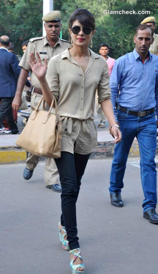 Priyanka Chopra Casual Style 2013