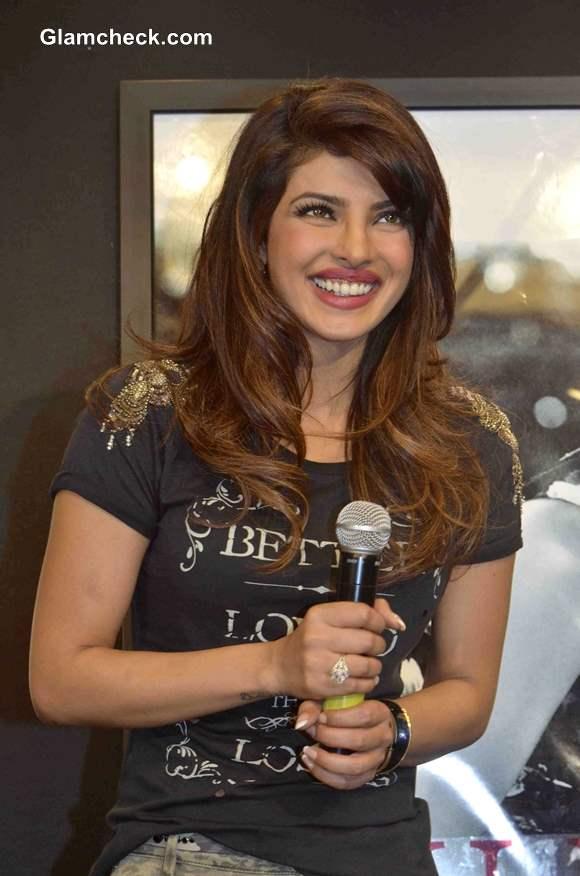 Priyanka Chopra Pictures 2013 for Guess