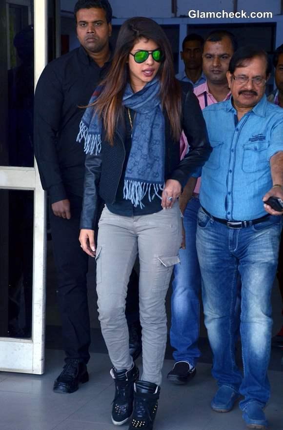 Priyanka Chopra Shows off Her Airport Style