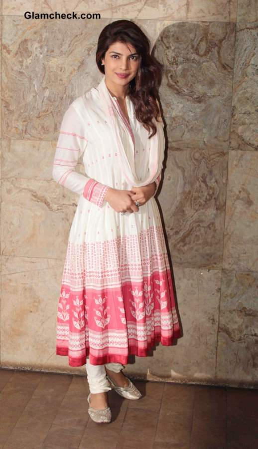 Priyanka Chopra at Ram-Leela Screening
