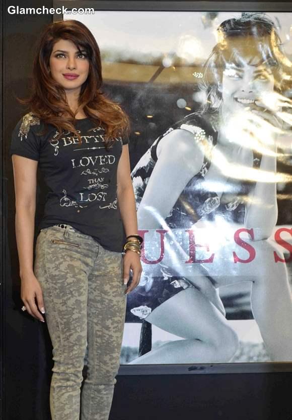 Priyanka Chopra for Guess 2013 Pictures