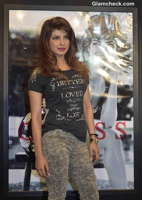 Priyanka Chopra for Guess 2013