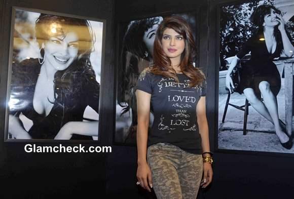 Priyanka Chopra for Guess Holiday Campaign 2013