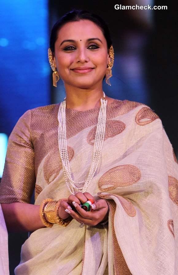 Rani Mukherjee 2013 at 44th International Film Festival in Goa