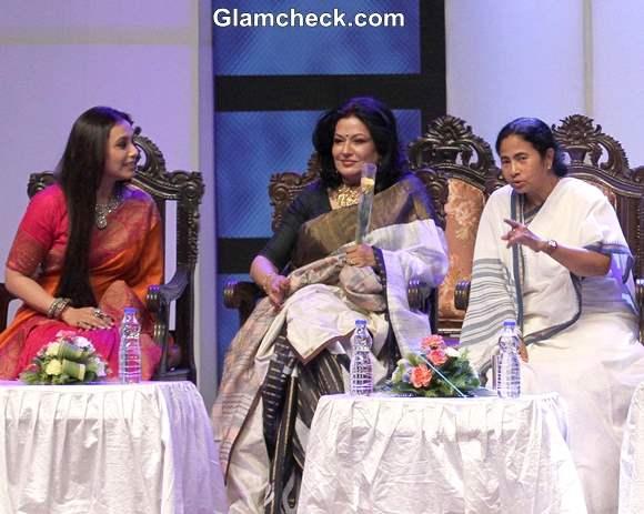 Rani Mukherjee at Kolkata International Film Festival 2013