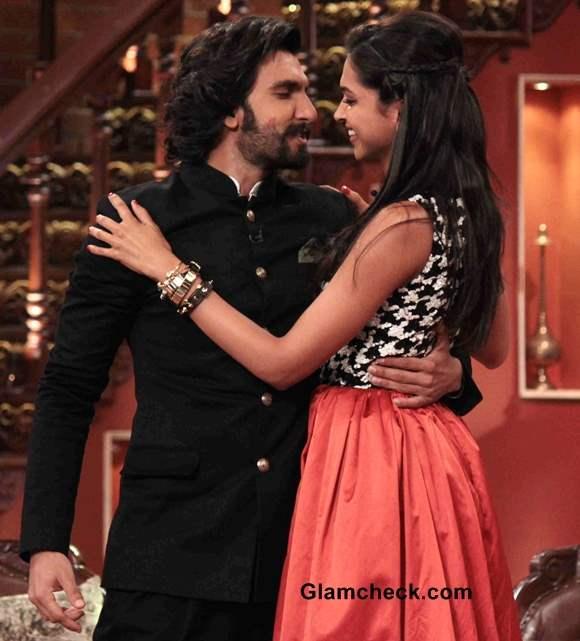 Ranveer Singh and Deepika Padukone on Comedy Nights with Kapil