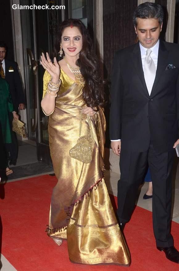 Rekha at Hello Magazine Awards 2013