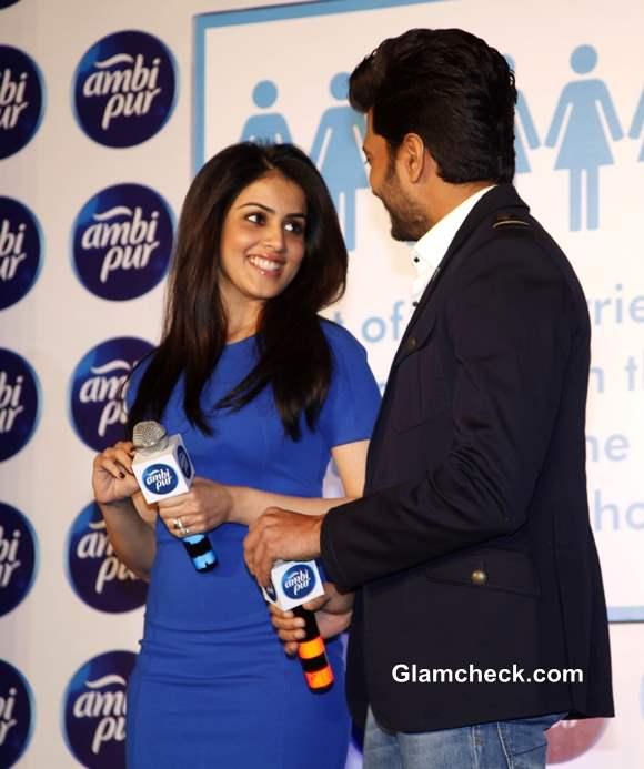 Riteish Deshmukh and Genelia 2013