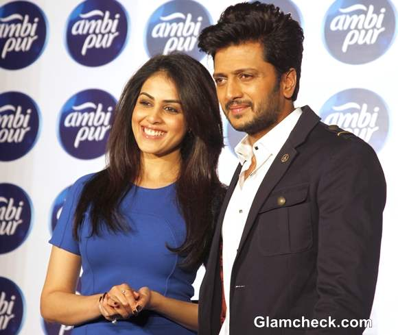Riteish Deshmukh and Genelia Campaign for Freshening Up Your Relationship