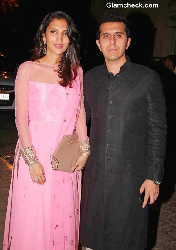 Ritesh Sidhwani at Aamir Khan Diwali Party